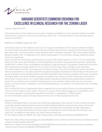 Harvard kommenterar på forskningen