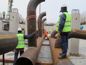 Pumpstation färdig i maj 2012