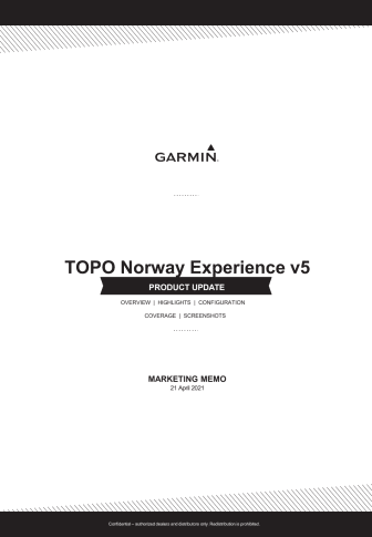 Topo Norway Experience v5 - Marketing Memo