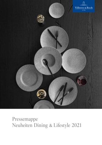 Pressemappe Neuheiten Dining & Lifestyle 2021