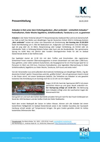 Presseeinladung zum Pre-Opening - Pop Up Pavillon am Alten Markt in Kiel