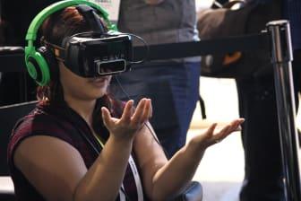CES-messen i Las Vegas - VR-teknologi