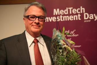 Göran Beijer, vd på NO Labs - vinnare av MedTech Investment Day Award