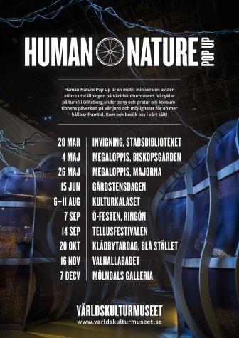 Turnéplan Human Nature Pop-up