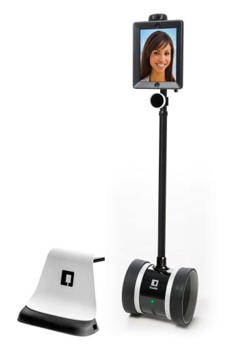 Robot som används vid visningar från TV-soffan