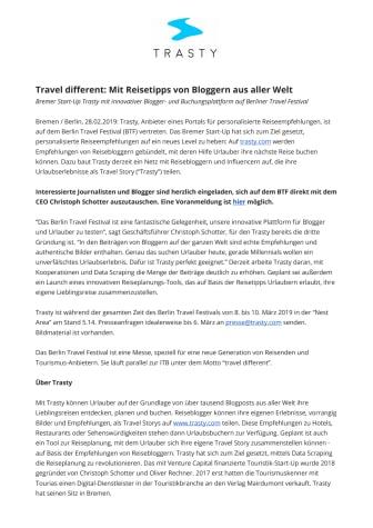 Travel different: Mit Reisetipps von Bloggern aus aller Welt