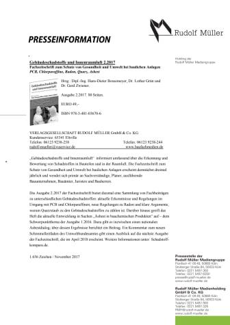 Gebäudeschadstoffe und Innenraumluft 2.2017