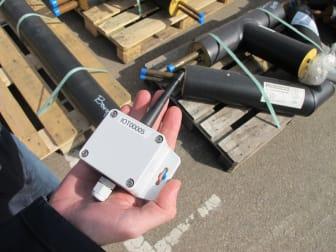 Sensorer övervakar nätet.