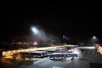 Bussdepå Bettorp i Örebro