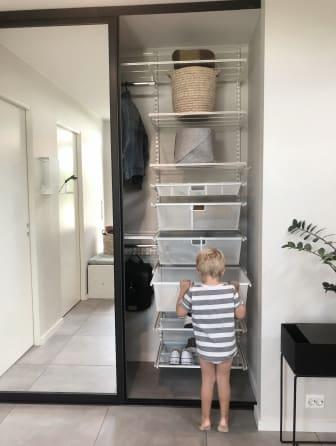 Elfa - Planlegging av garderobe til gangen -1