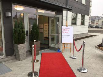 Inflyttning i Brf Kajutan, Riksbyggens sista etapp i Sannegårdshamnen