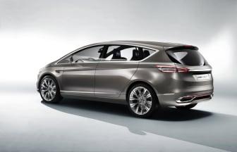 Nya Ford S-MAX Concept_snett bakifrån