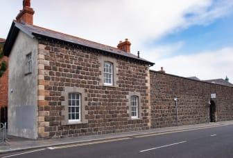 The recently restored Guard Room in Carrickfergus