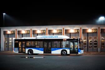 Bussdepån i Bettorp Örebro