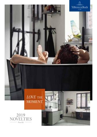 Villeroy & Boch presenterar årets badrumsnyheter på ISH 2019
