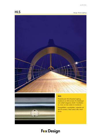 HLS Ledstångsbelysning produktblad