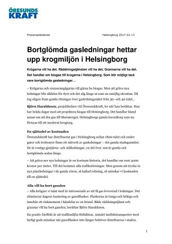 Bortglömda gasledningar hettar upp krogmiljön i Helsingborg