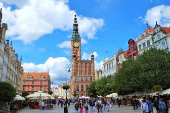 Gdansk - centrala stadens rådhus