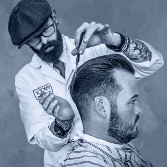 Paul Taylor-Clinch (UK) - domare i Årets barberare 2019