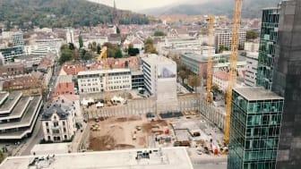 ZÜBLIN Grundsteinlegung Volksbank-Areal Freiburg