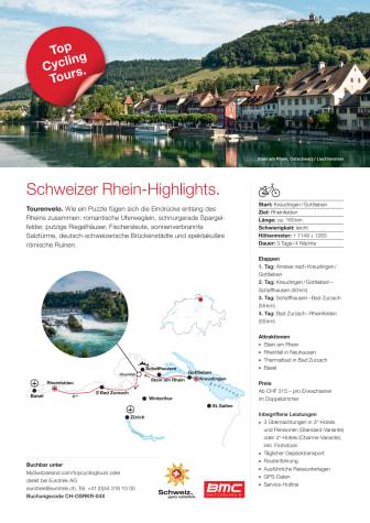 Fact Sheet Top Cycling Tour Rhein
