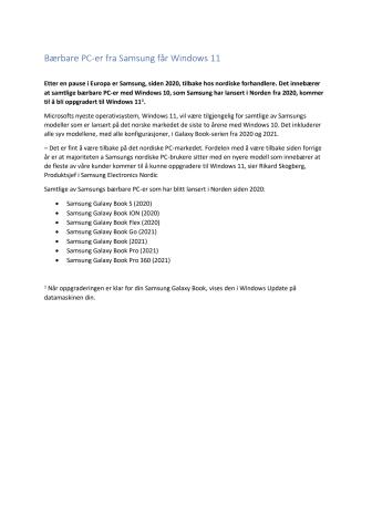 NO_V1_2021.10.05_Bärbara datorer från Samsung som får Windows 11_V2 (Clean)-kopi.pdf