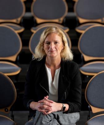 Alexandra Krook närbild. Gustav Kaiser foto