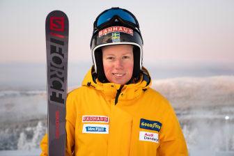 Skicross-åkaren Sandra Näslund, Kramfors Alpina.