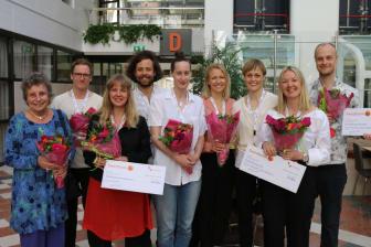 Glada stipendiater och Louise Nyström