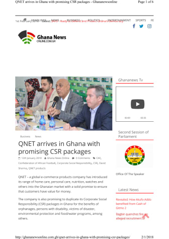 QNET comes to Ghana for business