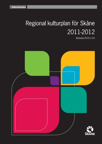 Regional kulturplan för Skåne 2011-2012