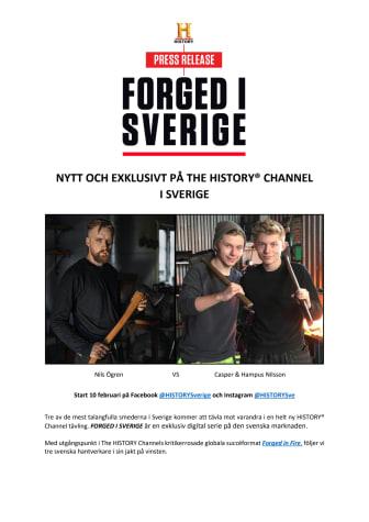 PRESSMEDDELANDE | NYTT OCH EXKLUSIVT PÅ THE HISTORY® CHANNEL I SVERIGE