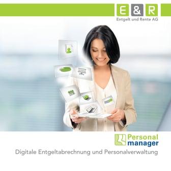 Personalmanager - Digitale Entgeltabrechnung und Personalverwaltung