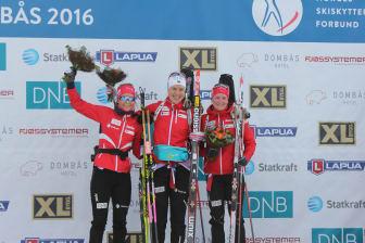 Pallen sprint kvinner, NM 2016