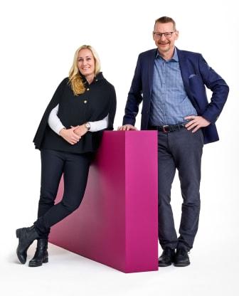 Christina Lundbäck och Mikael Andersson