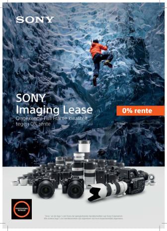 Sony introduceert Sony Imaging Lease