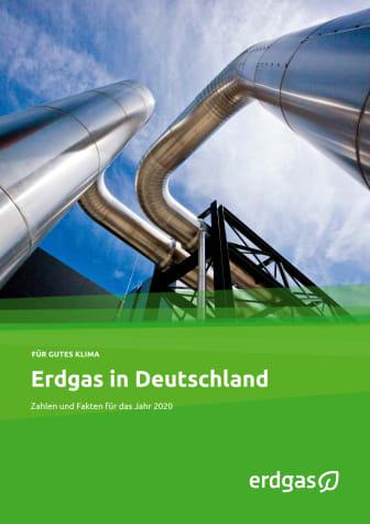 """Faktenblatt """"Erdgas in Deutschland 2020"""""""