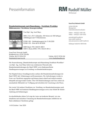 Brandschutzkonzepte nach Bauordnung – Nordrhein Westfalen