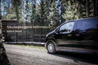 Elminibussen ger besökaren en smidig och hållbar vandringsupplevelse