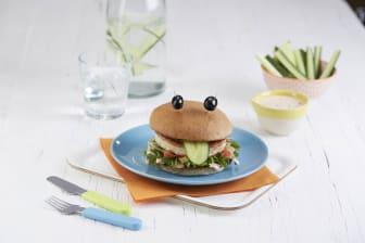 Grov fiskekakeburger