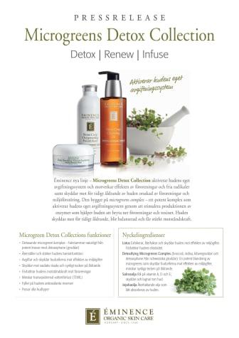 Éminence Microgreens Detox Collection