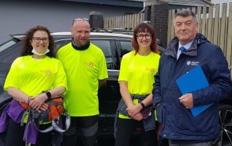 Walker sent on their way for EMERGE Advocacy Charity - The Big Dander