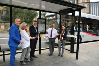 Groundbreaking solar-powered digital bus information arrives in Newcastle