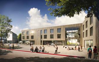 ZÜBLIN Timber, Campus-Neubau Uni Witten-Herdecke