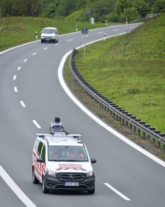 STRABAG, Mobile Mapping A93, Regensburg