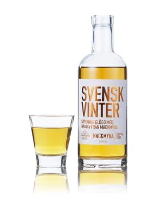 Svensk Vinter med glas