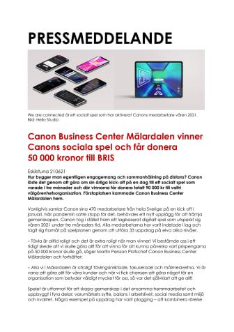 Nyhet_Canon_210621_Canon Business Center Mälardalen vinner Canons sociala spel.pdf