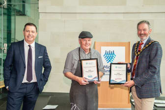 Ballymena's K&G McAtamney won second place in the Butcher category