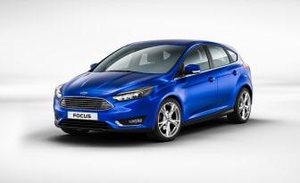 Nya Ford Focus 5-dr i färgen Deep Impact Blue - bild 1