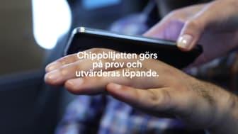 SJ först i världen med chippbiljett